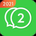 2Face: Cloner for 2 whatsapp