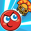 Red Bounce Ball Heroes