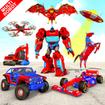 Multi Robot Car Transform Bat: Bus Robot Games