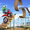 Mega Ramp Bike Stunt Games - Stunt Bike Racing 3D