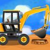 Construction Vehicles & Trucks - Games for Kids