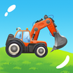 Build a House with Building Trucks! Games for Kids