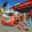 Firefighter Truck Simulator: Rescue Games