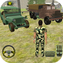 US Army Off-road Truck Driver 3D 2