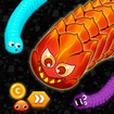 Worm Hunt .io - Battle royale snake game
