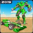 Formula Car Robot Transforming Games: Robot Car