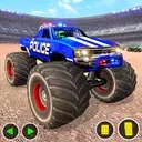 Police Monster Truck Derby Crash Stunts: Car Games