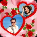 Romantic Photo Blending Frames: Love Frame Editor
