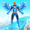 Snow Storm Robot Super Hero