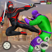 Ninja Superhero Fighting Games: Shadow Last Fight