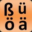 German alphabet for students