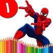کتاب رنگ آمیزی - مرد عنکبوتي ۱