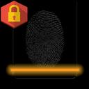 Lock screen with fingerprints
