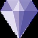 الماس بنفش