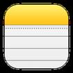 دفترچه یادداشت آیفون