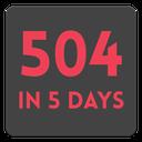 ۵۰۴ در ۵ روز
