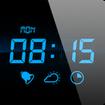 نمایش ساعت روی صفحه