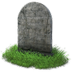 سنگ قبر اعلامیه تابلو عکس