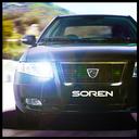 Speed in city : Soren Turbo