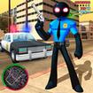 Police Stickman Rope Hero Strange Crime