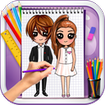 Learn to Draw Sweet Boys & Cute Girls
