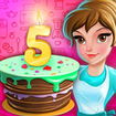 آشپزی پخت کیک تولد