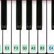 Piano keyboard 2020