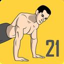 Push Up  -  21 Day Push Up Challenge