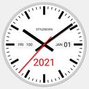 Swiss Analog Clock-7