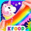Unicorn Chef: Edible Slime - Food Games for Girls