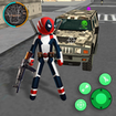 Superhero Stickman Rope Hero Gangstar Mafia