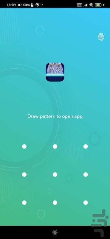 قفل اثر انگشت واقعی - عکس برنامه موبایلی اندروید