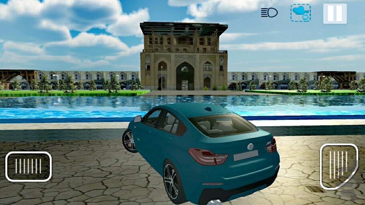 رانندگی در اصفهان 1 - عکس بازی موبایلی اندروید