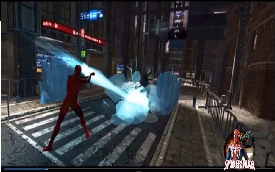 مردعنکبوتی در شهر اژدها - عکس بازی موبایلی اندروید