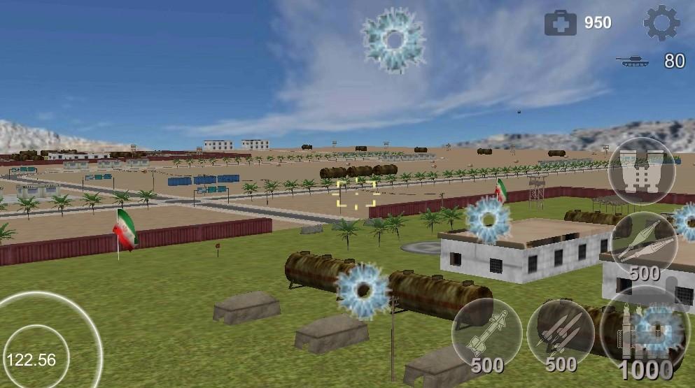 نبرد زرهی - عکس بازی موبایلی اندروید