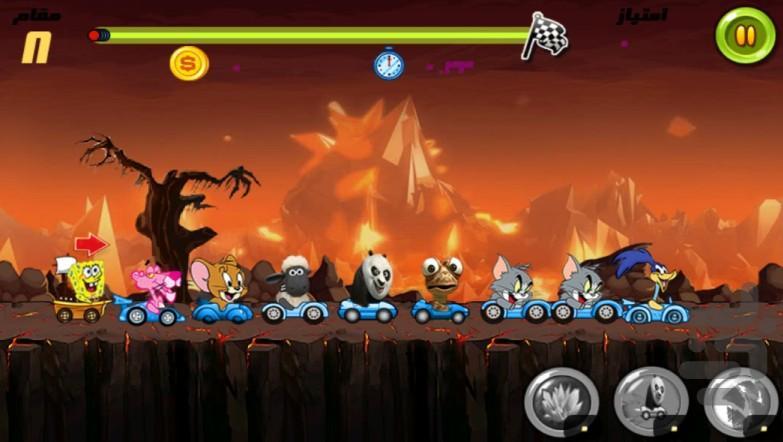 مسابقه حیوانات - عکس بازی موبایلی اندروید