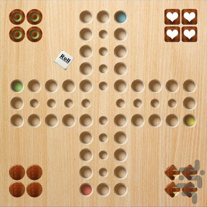 Ludo, Mench - Gameplay image of android game