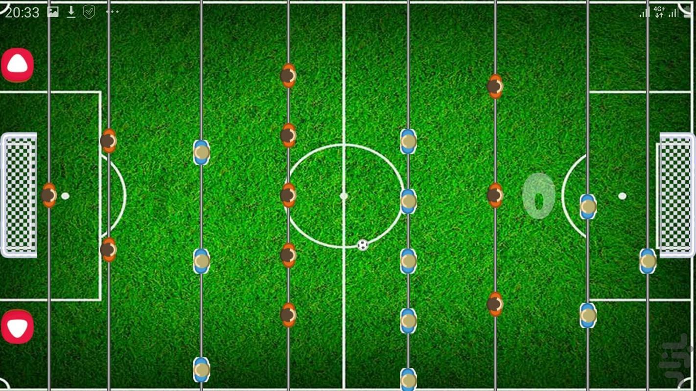 فوتبال دستی - عکس بازی موبایلی اندروید