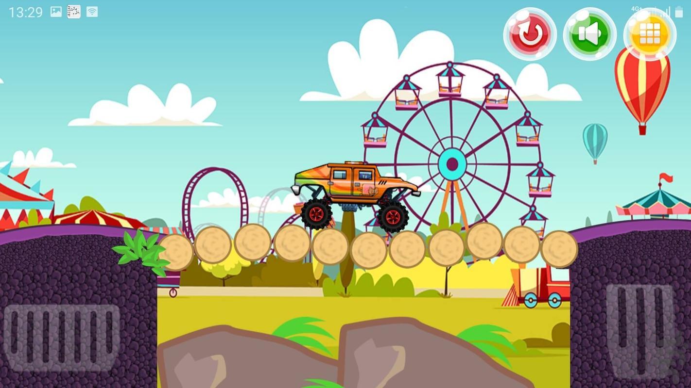 ماشین بازی - Gameplay image of android game