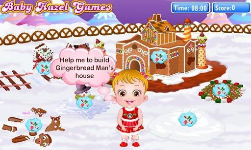 هیزل کوچولو و خانهی نان زنجبیلی - عکس بازی موبایلی اندروید