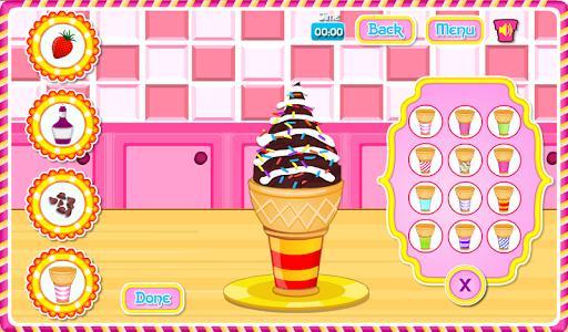 Cooking Ice Cream Cone Cupcake - عکس بازی موبایلی اندروید