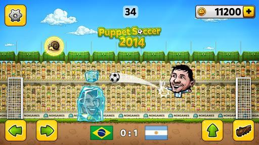 Puppet Soccer 2014 - عکس بازی موبایلی اندروید