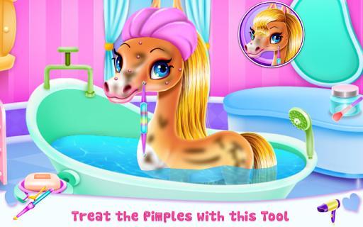 Rainbow Pony Beauty Salon - عکس برنامه موبایلی اندروید