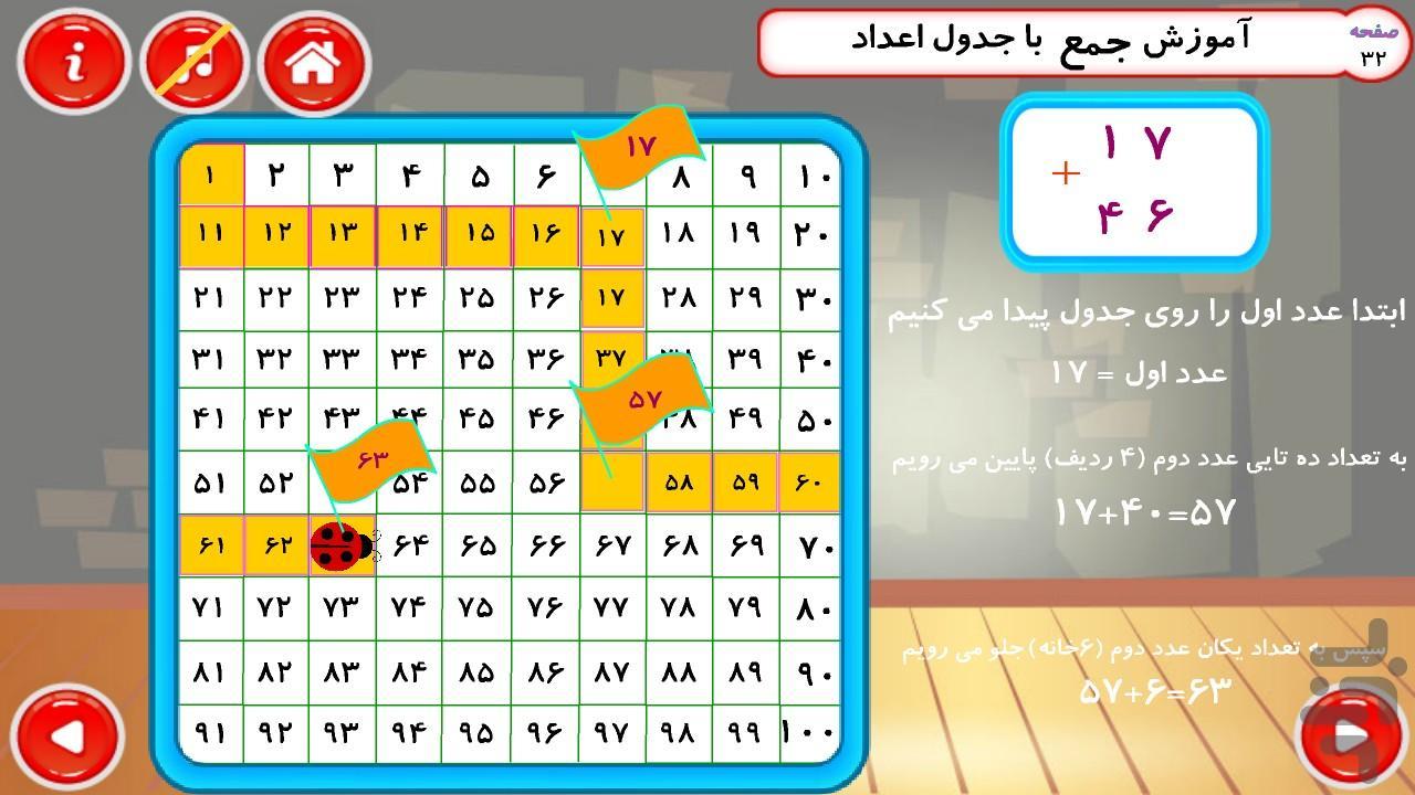 ریاضی دوم دبستان - عکس بازی موبایلی اندروید