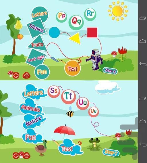 آموزش زبان آرین 2 (متوسطه) - عکس برنامه موبایلی اندروید