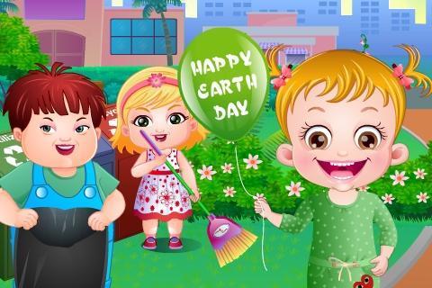 Baby Hazel Earth Day - عکس بازی موبایلی اندروید