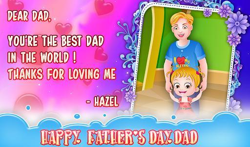 Baby Hazel Fathers Day - عکس بازی موبایلی اندروید