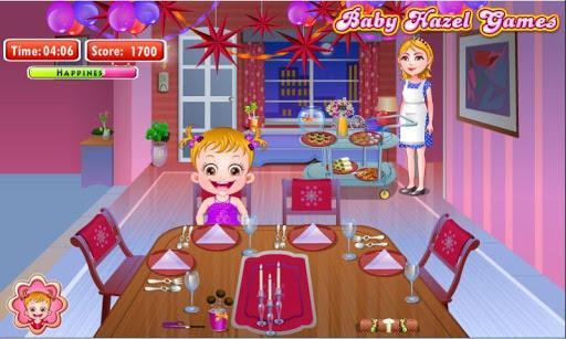 هیزل کوچولو در جشن سال نو - عکس بازی موبایلی اندروید