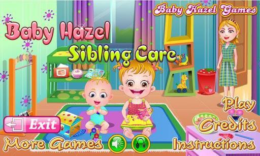 هیزل کوچولو از برادرش مراقبت میکنه - عکس بازی موبایلی اندروید