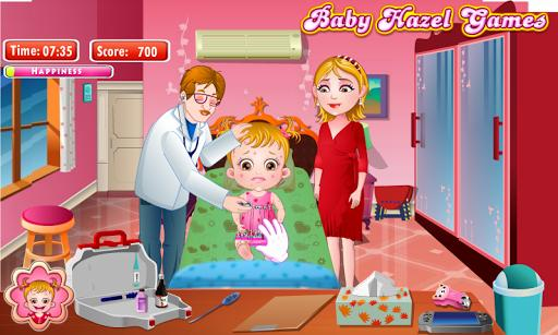 هیزل کوچولو و بیماری پوستی - عکس بازی موبایلی اندروید
